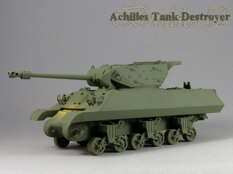 Achilles Tank Destroyer - Academy-Italeri + RB Model + set Blast 1/35 542638P1030805