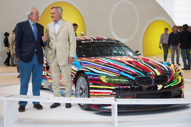 BMW célèbre ses 40 ans de BMW Art Cars 543125P90185167