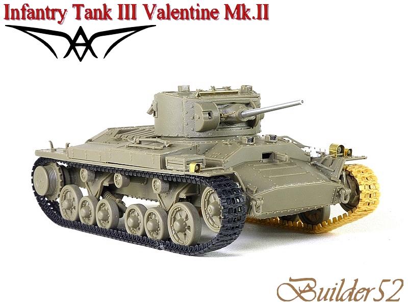 Infantry Tank III Valentine Mk.II - AFV CLUB 1/35 545300P1050410