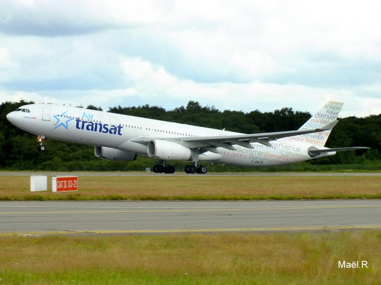 [08/07/2014] Airbus A330-300 (C-GKTS) Air Transat 546272Juilletn7034