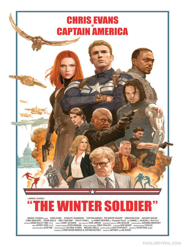 Captain America : The Winter Soldier 548311Posters34