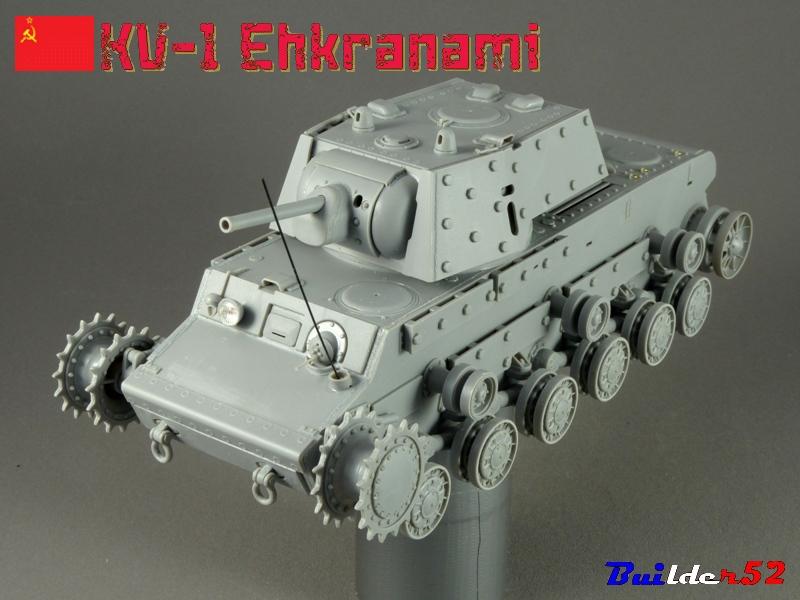 KV-1 Ehkranami  -  TRUMPETER 1/35 548783P1030100