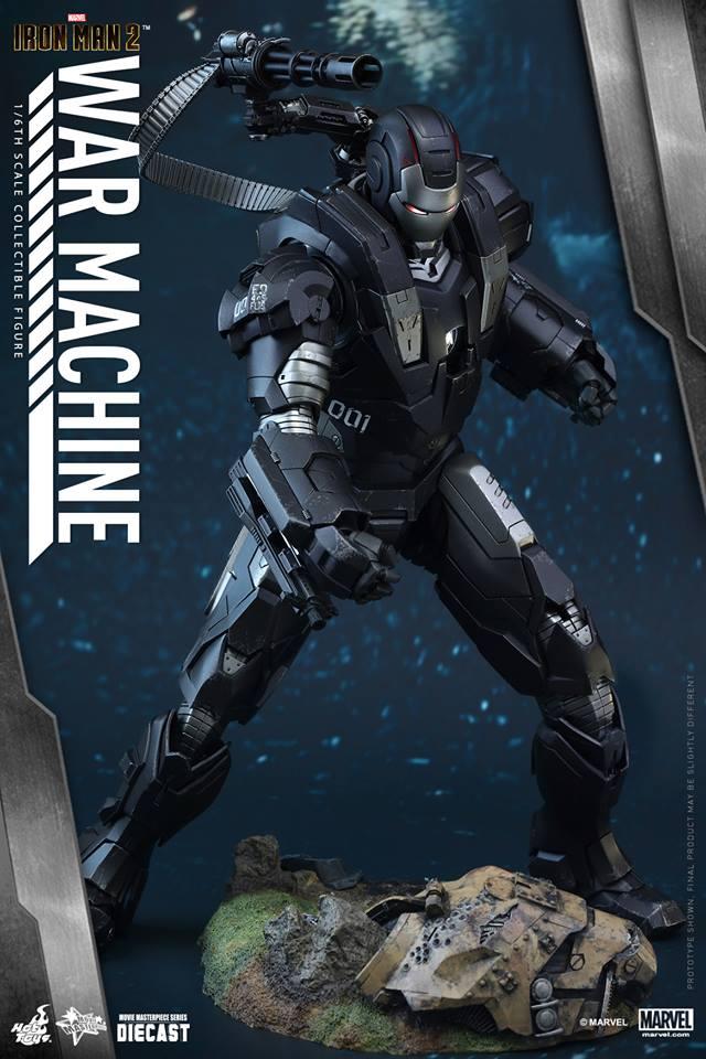HOT TOYS - Iron Man 2 - War Machine Diecast 551171109