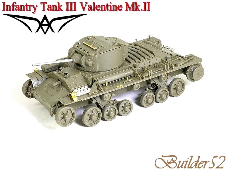 Infantry Tank III Valentine Mk.II - AFV CLUB 1/35 552773P1050403