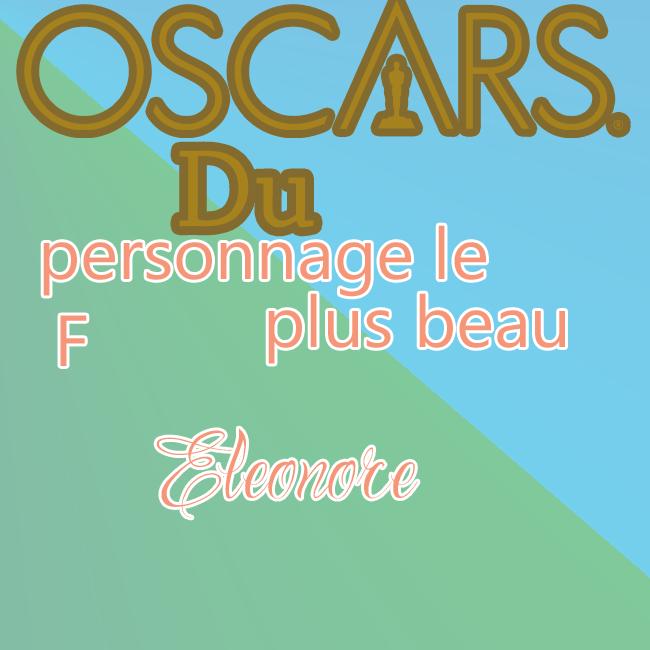 Oscars 2015-2 {Organisé par Nono & Choupi} 552815Oscarsdupersonnageleplusbeauf