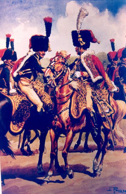Les chasseurs à cheval de la Garde 553032CCGI4