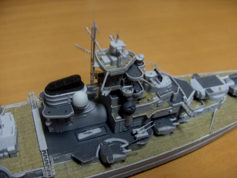 Bismarck 1/700 [Trumpeter] - Page 2 553727HPIM2066