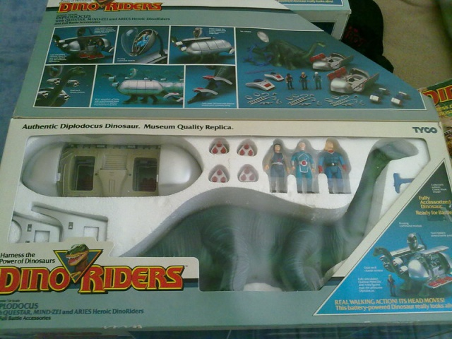 Les jouets DINO-RIDERS ( dinoriders ) - IDEAL 55436412062011990