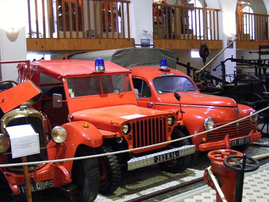 Bagnoles de l'Orne - Musée départemental des pompiers. 554486DSCF1729z9