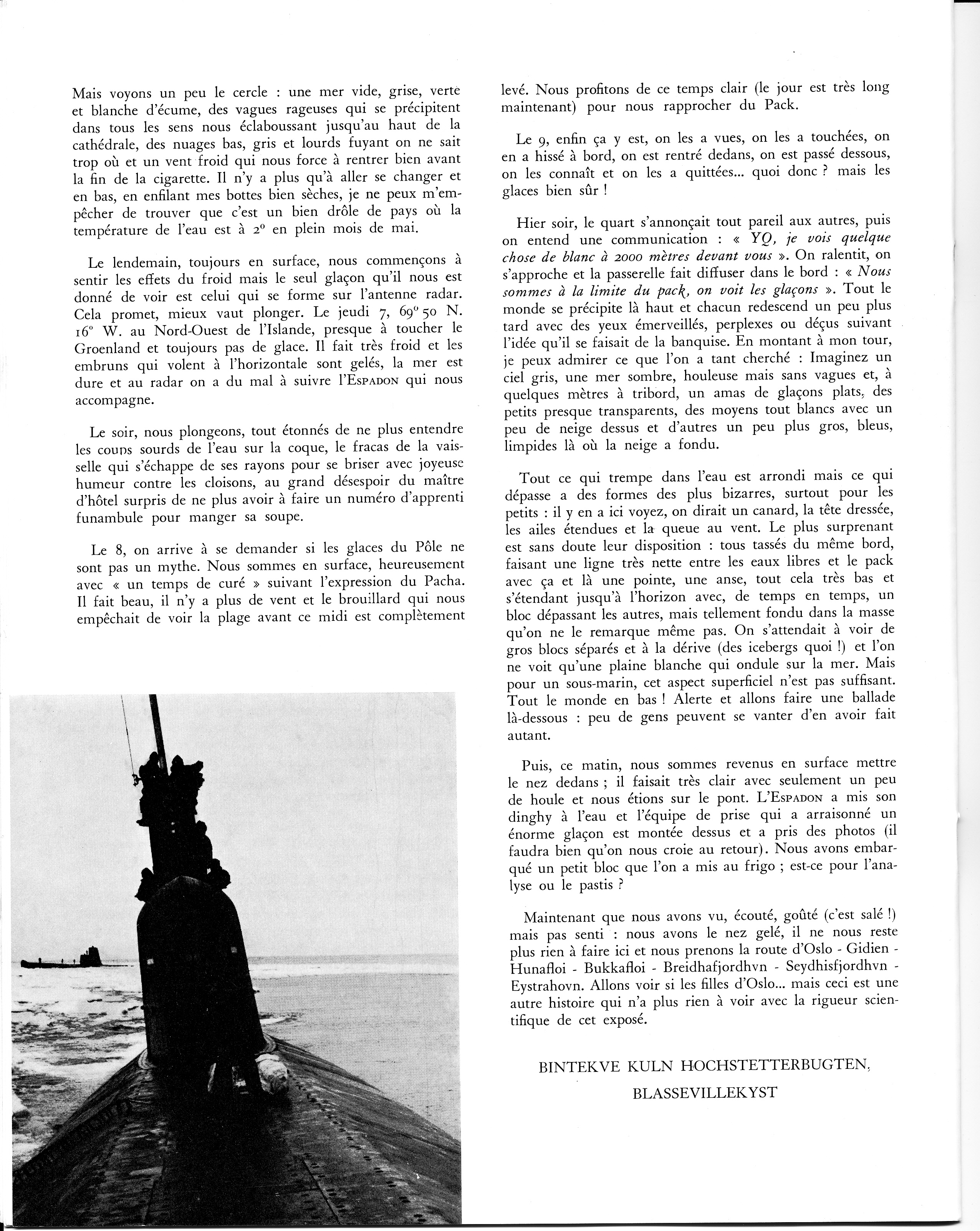 [ Divers - Les classiques ] Les 1ère et 2ème Escadrilles en 1965 554932plonge6