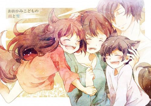 """[FRANCE] Un manga et un roman pour """"Les Enfants Loups, Ame & Yuki"""" 555088enfantsloups24"""