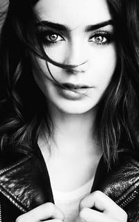 Lily Collins #003 avatars 200*320 pixels 556365lilycollins1