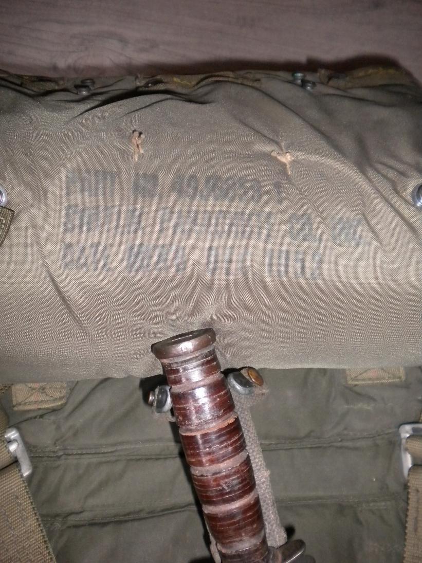 Parachute Switlik 1952 556760DSCN2525