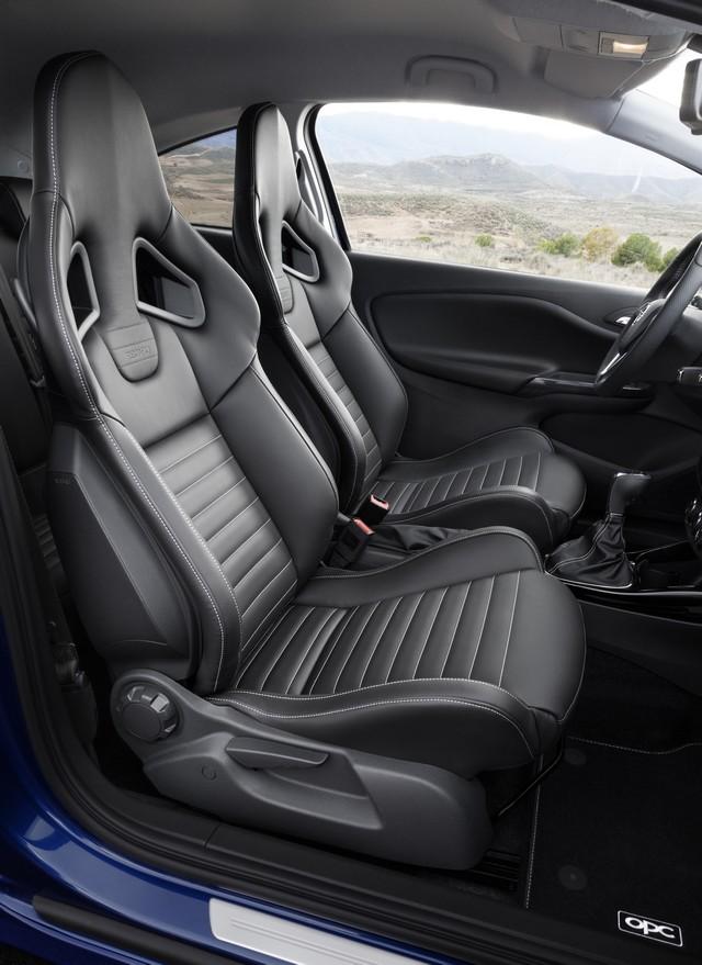 Nouvelle Opel Corsa OPC : gros muscles à prix raisonnable 556812OpelCorsaOPCInterior292962