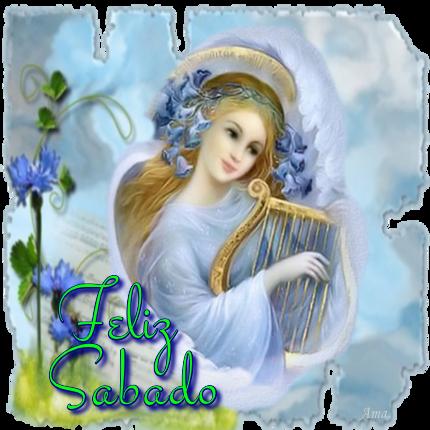 Arcangel Tocando el Arpa 557133sabado