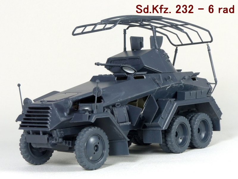Sd.Kfz. 232 6 Rad - France 1940 - Italeri 1/35 559291P1030978