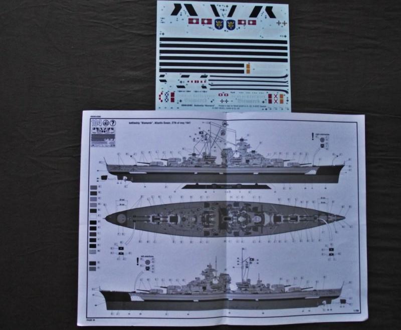 Bismarck Revell au 1/350ème  559329DSCF0995