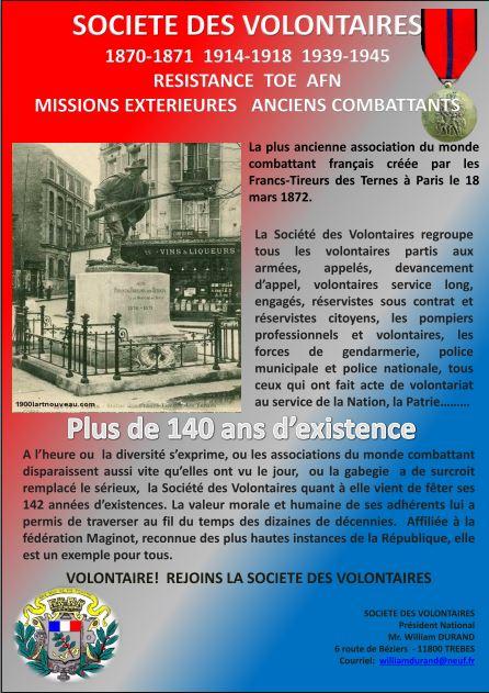 Société des Volontaires 559535122