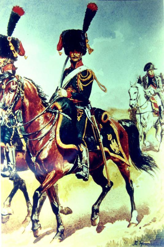 Les chasseurs à cheval de la Garde 561183CCGI12