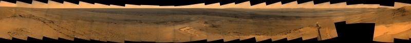 Opportunity et l'exploration du cratère Endeavour - Page 3 562689Sols2823a2841pancamhalf1