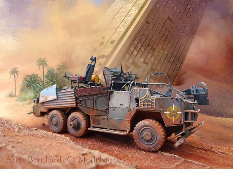 """Coyote"" post apocalypse - Conversion base Airfix - 1/48. 564242Coyote41"