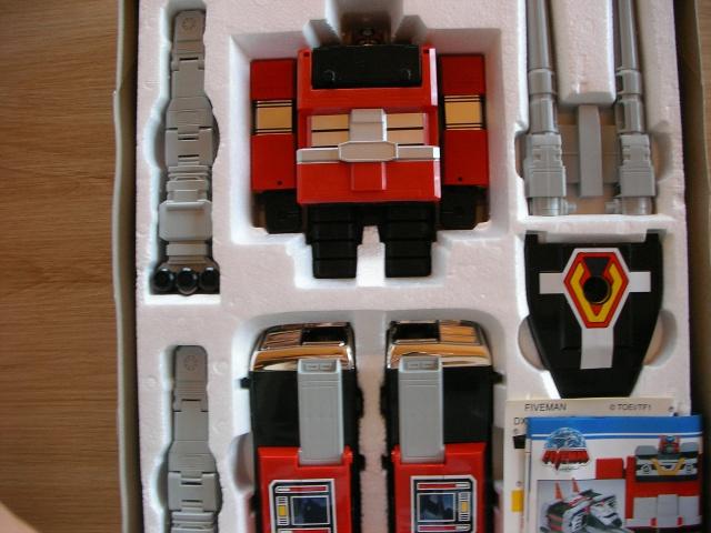 La gamme de jouets Fiveman - Bandai 564757SANY0009
