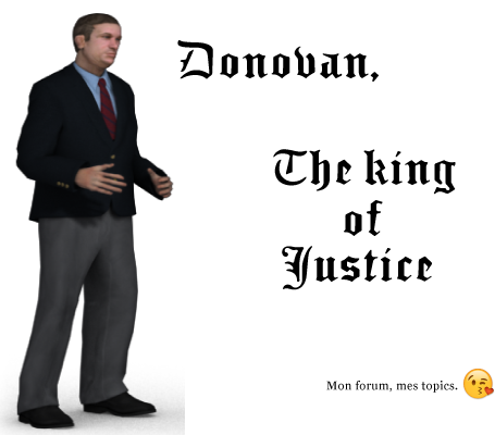 Donovan is the king