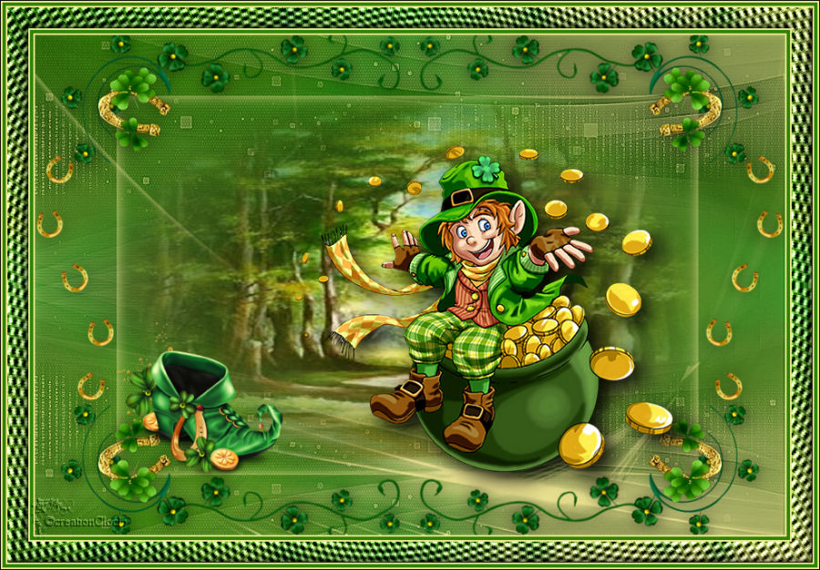Tag Hello St Patrick Cloclo 565093cloclo