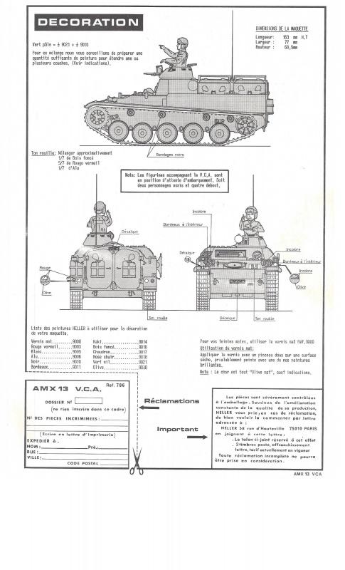 AMX 13 VCA 1/35ème Réf L 786 565244VCA012