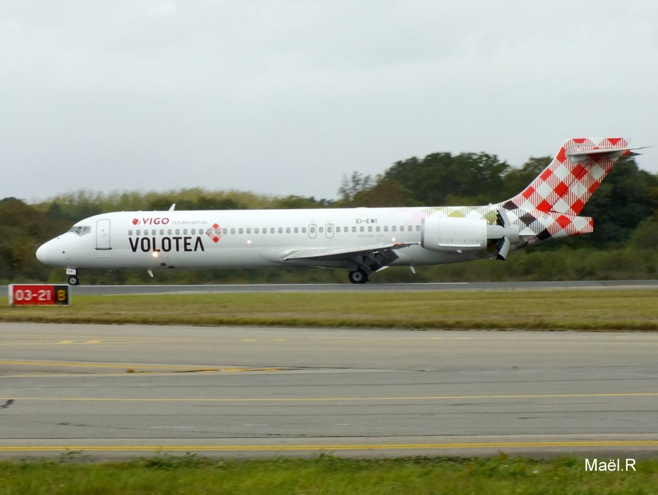 [18/09/2014] Boeing B717 (EI-EWI) Volotea: VIGO #UnMardeVida! 566547Octobren2036