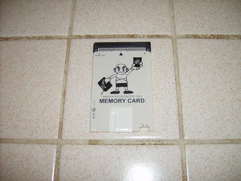 Carte mémoire Neo-Geo sans pile 569205601