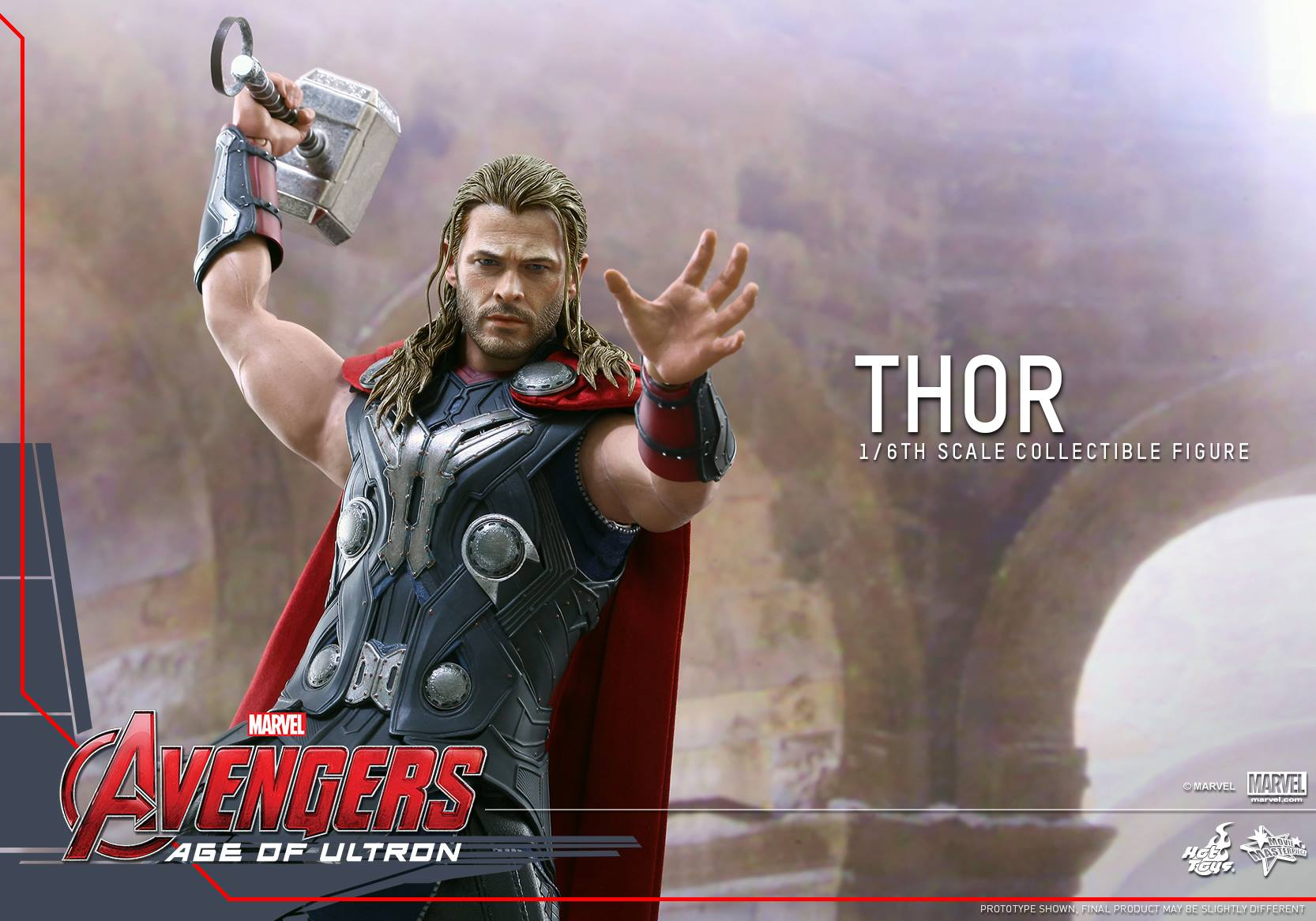 HOT TOYS - Avengers: Age of Ultron - Thor 570471107