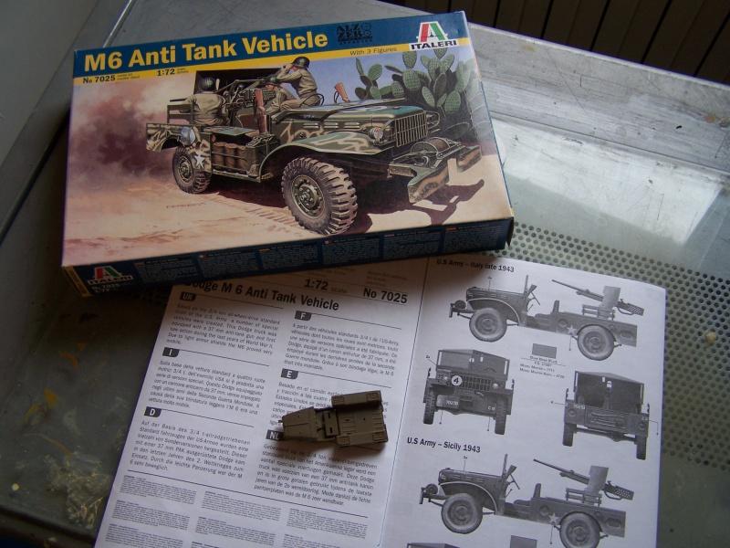 Dodge M6 anti tank Tunisie 1943 (montage terminé) 5718051005319