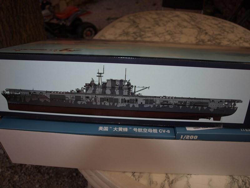 uss hornet - USS Hornet cv8 au 1/200° 572007P9175140Copier
