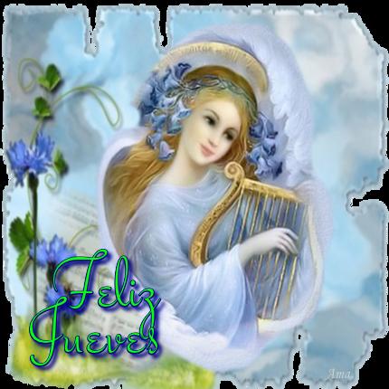 Arcangel Tocando el Arpa 572617jueves