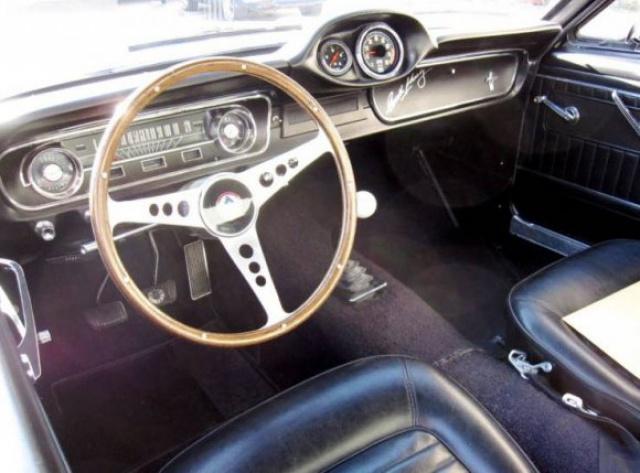 mustang shelby 350 GT 1965  kit monogram 1/24 . 574322interieur350gt19658