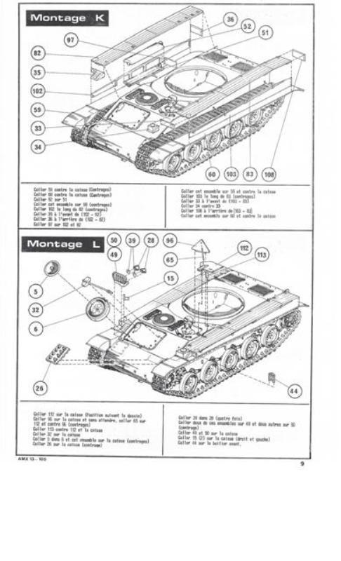 AMX 13 Canon de 105 [ Heller ] 1/35 57581613105009
