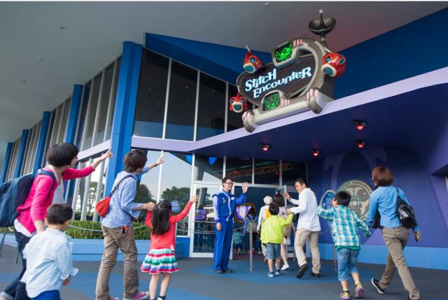 [Tokyo Disneyland] Nouvelle attraction : Stitch Encounter (17 juillet 2015) - Page 2 576114STITCH1