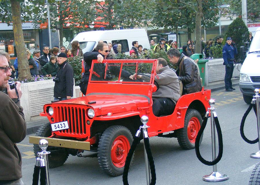 """Bruxelles côté BD  """"Tintin en automobile"""" 576479DSCF6138"""