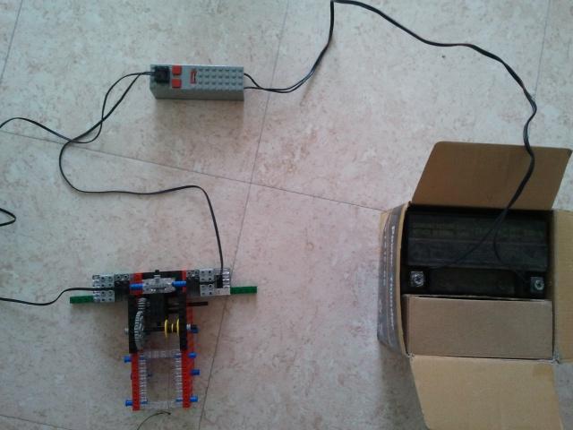 Motorisation rail pour TimeLapse en légo 57802620120210100113