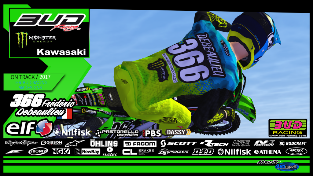 2018 Team BUD RACING By AMDesign'S 578850AffichepiloteFred366