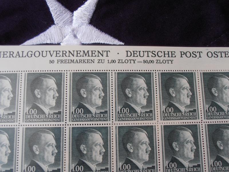 Planche de Timbres Adolf Hitler  579334P8160020