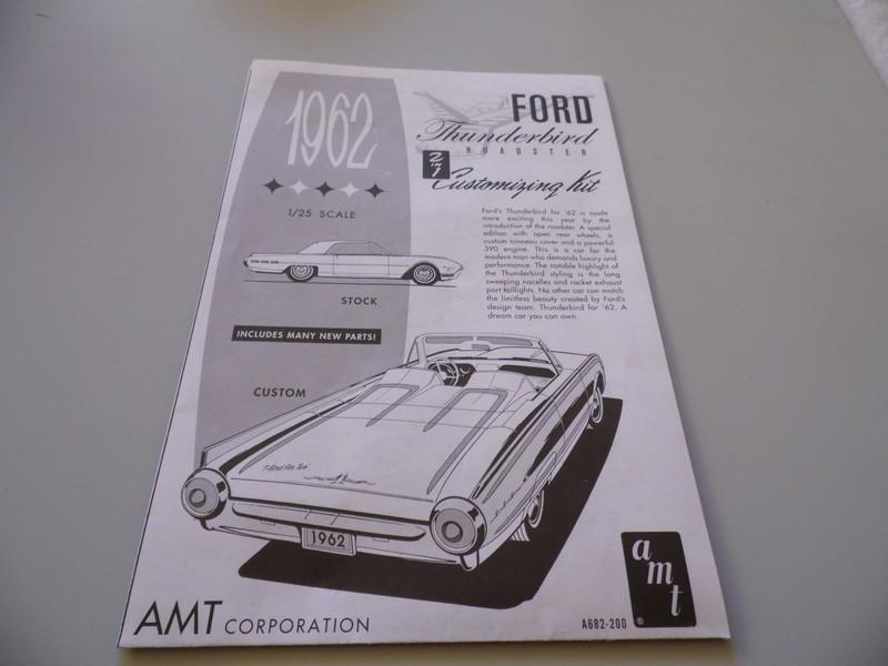 Ford Thunderbird 1962 AMT. 580990SAM3064