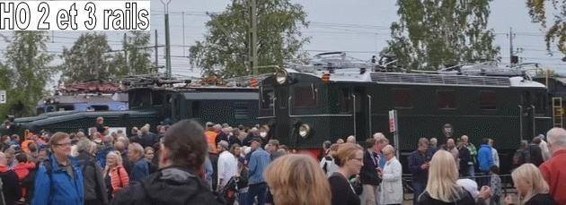 Coffret du centenaire de la traction électrique des C.F. suédois 581755SJSverigesJrnvgsmusum