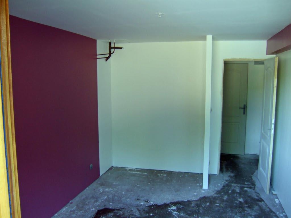 Aménagement d'un sous sol en chambres. 582008travaux28