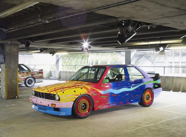 BMW célèbre ses 40 ans de BMW Art Cars 582221P90100558
