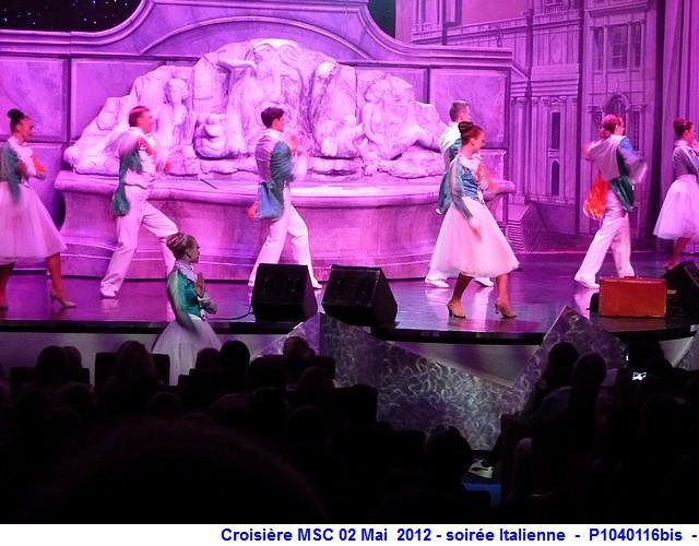 MSC Splendida Du 28 avril au 5 mai 2012 Gêne Barcelone Tunis La valette Taormine Messine Rome 583421P1040116