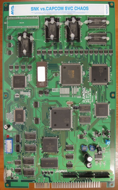 Les PCBs JAMMA de SNK 583809Svcchaospcb1front