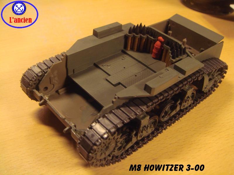 M8 US Howitzer  au 1/35 par l'ancien 585496m8300
