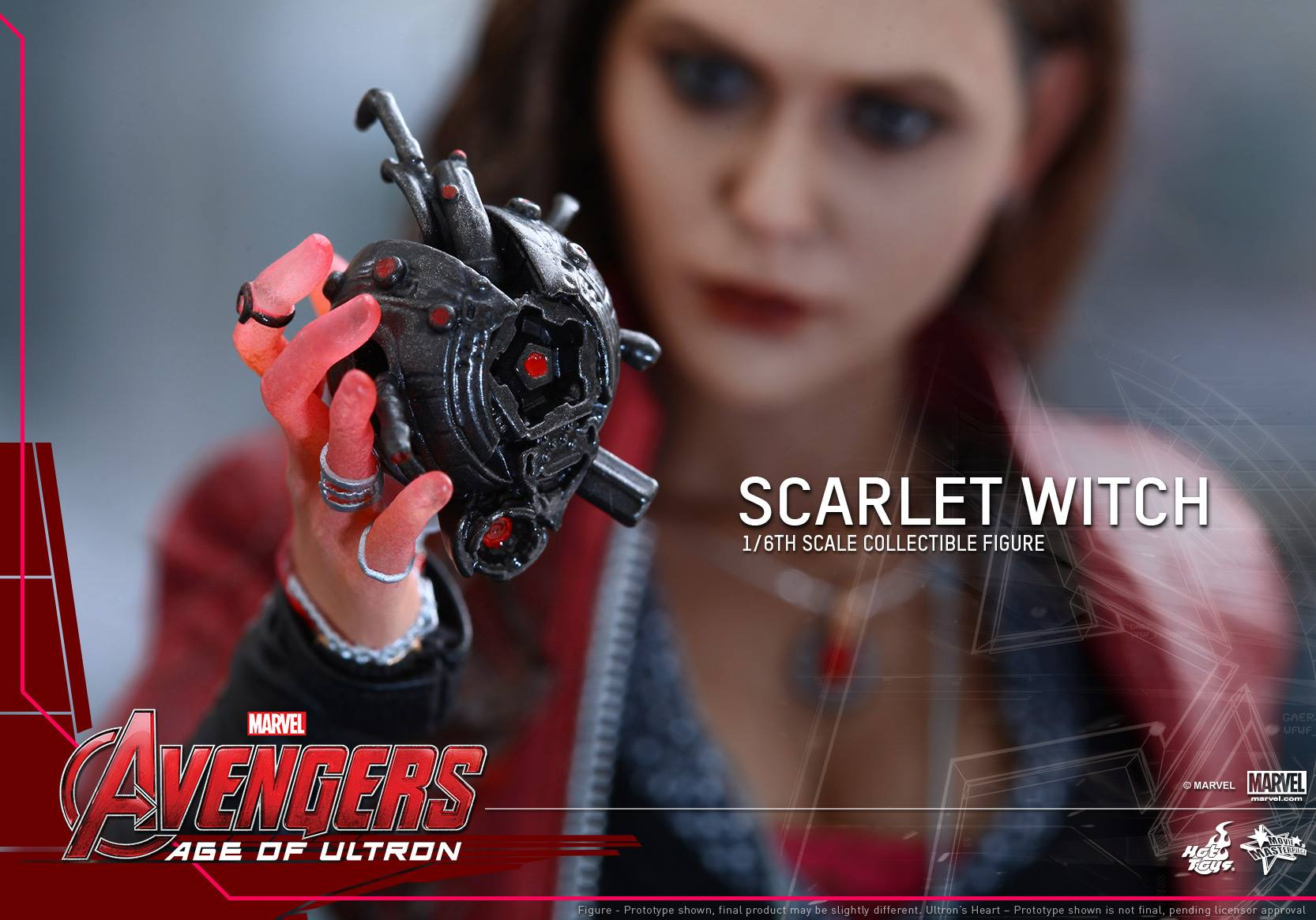 HOT TOYS - Avengers: Age of Ultron - Scarlet Witch 586157113